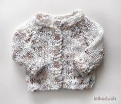 miękki sweter niemowlęcy (proj. lalkoduch)