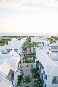 Alys Beach Hotel in Florida! luxury houses on a pristine beach front. Alys Beach Florida, Florida Beaches, Rosemary Beach Florida, Seaside Florida Hotels, Virginia Beach, Palm Beach, Panama City Beach, Beach Town, The Places Youll Go