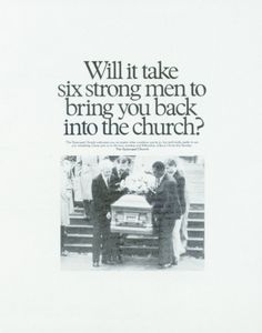 Read more: https://www.luerzersarchive.com/en/magazine/print-detail/60960.html Ad for the Episcopal Church (1987). By way of tribute to Pat Fallon, who passed away late last year, this issue features several celebrated campaigns produced by the renowned Minneapolis agency Fallon McElligott, co-founded by Fallon in 1981. Tags: Dean Hanson,Tom McElligott,Dublin Productions, Minneapolis,Fallon McElligott, Minneapolis