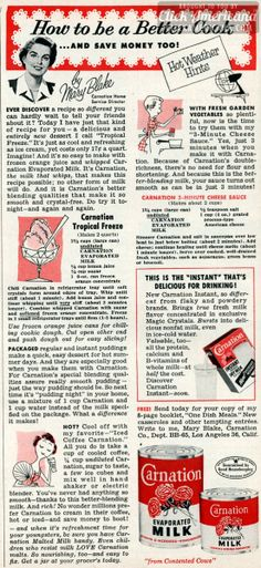Be a better cook, thanks to evaporated milk (1955)