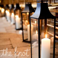 Wedding Aisle Decorations With Candles | Bridal Party Gifts Invitations Favors Ceremony Reception SALE