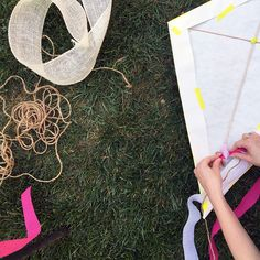 Plan some outdoor fun with this DIY kite project inspired by Mary Poppins.
