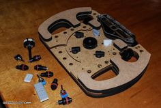 I did find something about the display which doesn't help, and that is that only 4 rotary switches are supported, while I need I contacted them anyway so. Formula 1, Diy Pc, Instruções Origami, Nerf Toys, Racing Simulator, Sand Rail, Wood Games, Racing Wheel, Futuristic Cars