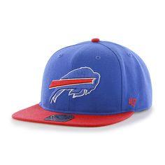 47 Buffalo Bills MVP Basic Blue Structured Hat Cap Adult Mens Adjustable