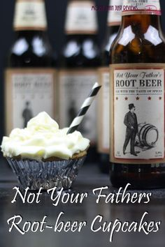 Not Your Fathers Rootbeer Cupcakes