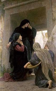 """The Three Mary's at the Tomb"",  Adolphe William Bouguereau"
