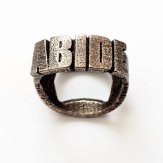 The dude abides Bottle Opener Ring, Dudeism, The Big Lebowski, Fan, Belt, Trending Outfits, Unique Jewelry, Bracelets, Handmade Gifts