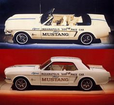 1964 Mustang Indy Pace Car Ford Mustang 1965, New Mustang, 1964 Ford, Ford Mustang Fastback, Ford Mustangs, Car Ford, Bicicletas Raleigh, Super Snake, Vintage Mustang