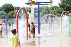 11 Awesome Splash Pads Around Chicago