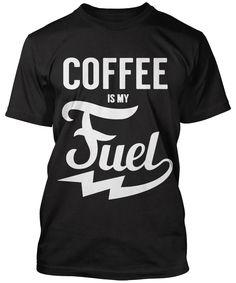 6f51f4934 Coffee is my fuel Coffee Drinkers, Coffee Mugs, Espresso Recipes, Crew Neck  Sweatshirt