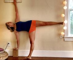 Three Steps to Doing a Gorgeous and Strong Half-Moon Pose http://www.womenshealthmag.com/fitness/half-moon-pose