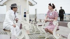 BBC One - Upstairs Downstairs, Series 2 - Clips Bbc One, Period Dramas, Baby Strollers, Children, My Style, Pictures, 1930s, Seaside, Track