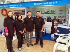 Congratulations, Hexigon Holdings (our friend in Hong Kong) on your successful Hong Kong International Boat Show last week!