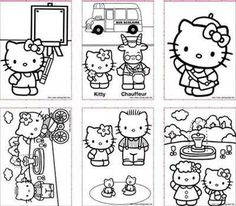 Top 5 sites of free printable hello kitty coloring pages for kids