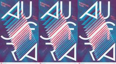 Austra's official screenprinted european tour poster 2012. Available at the whole tour! Designed by Rainbow Posters. More infos at rainbow-posters.com