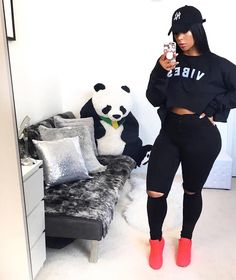 View other great ideas about Fashion attire, Plunder clothing and Ladies design and style. Cute Swag Outfits, Chill Outfits, Dope Outfits, Outfits For Teens, Plus Size Outfits, Trendy Outfits, Fashion Outfits, Fashion Clothes, Curvy Girl Fashion