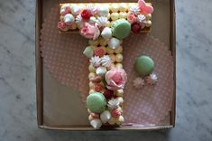 Tea, Cake & Create: Letter Cake Cookie Cake