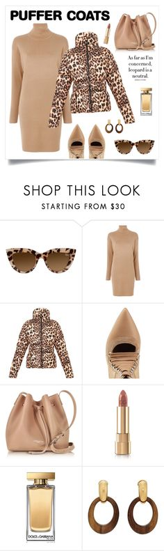 """""""Puffer Coat!"""" by diane1234 ❤ liked on Polyvore featuring MICHAEL Michael Kors, Puma, Lancaster, Dolce&Gabbana and Goossens"""