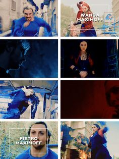 quicksilver & scarlet witch #aou