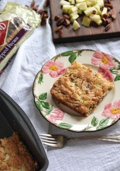 Switch up the usual apple pie with this Danish Apple Cake recipe. This sweet dessert, filled with chopped pecans, is one worth saving!