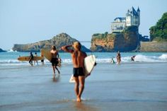 Study French in Biarritz, France