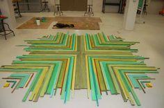 Liturgical Art Blog - Blog - Prepping for a Collaborative ArtProject - Camp Idea