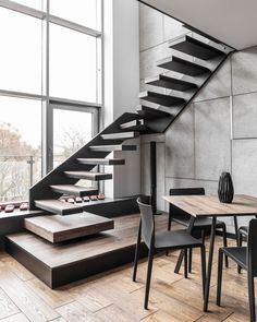 Awesome Stairs Design Home. Now we talk about stairs design ideas for home. In a basic sense, there are stairs to connect the floors Interior Stairs, Apartment Interior, Apartment Design, Interior Architecture, Room Interior, Staircase Architecture, Home Stairs, Male Apartment, Apartment Goals