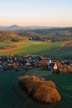 Papstdorf, Sachsen, Eastern Germany