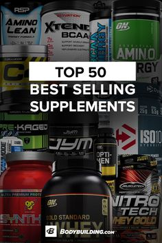 Discover the BodyBuilding.com Top 50 Best Selling Supplements today. Free Shipping on all orders over $49!