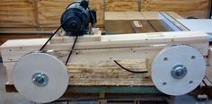 Homemade Band sawmill #1: Building the frame - by geekwoodworker @ LumberJocks.com ~ woodworking community