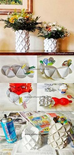 How to Make A Paper Bag Scrapbook – Scrapbooking Fun! Diy Craft Projects, Kids Crafts, Easy Diy Crafts, Recycled Crafts, Decor Crafts, Home Crafts, Arts And Crafts, Diy Paper, Paper Art