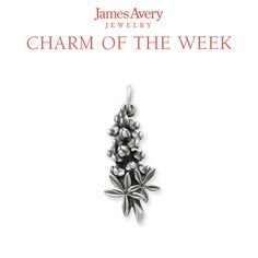 The Bluebonnet Charm is a year-round reminder of spring. Where have you seen the state flower of Texas blooming? #JamesAvery