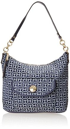 Tommy Hilfiger Coin with Chain Monogram Jacquard Small Shoulder Bag, Navy/White, One Size Tommy Hilfiger http://www.amazon.com/dp/B00OIZG94O/ref=cm_sw_r_pi_dp_XTdPub0PN8623