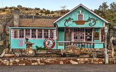 Ghost Town Trading Post in Madrid, New Mexico.