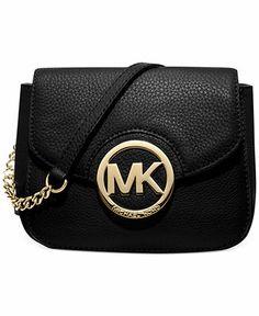 MICHAEL Michael Kors Handbag, Fulton Small Crossbody - All Handbags - Handbags & Accessories - Macy's