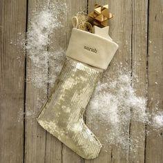 sequin stocking