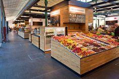 Schrannenhalle marketplace by Oliv Architekten Ingenieure, Munich