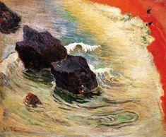 "Paul Gauguin. ""The wave"" 1888"
