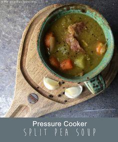 No Fuss Split Pea Soup (pressure cooker) - Pressure's On