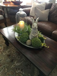 100 Dollar Store Easter Decorations that are simply Egg-cellent - Hike n Dip Make your Easter Decorations with dollar store items and save your hard-earned money. Here are 100 easy Dollar Store Easter Decorations that you'll LOVE. Easter Colors, Deco Floral, Spring Home Decor, Decorating Coffee Tables, Coffee Table Decorations, Easter Table Decorations, Easter Centerpiece, Coffee Table Tray Decor, Dollar Store Centerpiece