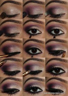 #glaumaquiagem #tutorial #púrpura