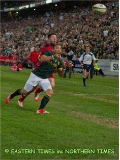 Bryan Habana in action 14 June, Real Men, Wales, Action, Tours, Sports, Hs Sports, Group Action, Welsh Country