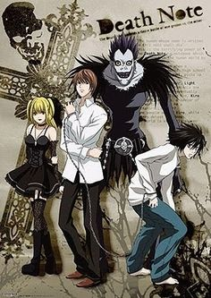 I love anime and manga. I'm a huge geek. This is one of my absolute favs. I love Death Note. My favorite character is L.