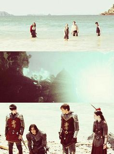 I don't remember any ruins in Narnia. - * - Rise, Kings and Queens of Narnia. Narnia 2, Narnia Movies, Lucy Pevensie, Edmund Pevensie, Cair Paravel, Prince Caspian, Legends And Myths, Lion Mane, Cs Lewis
