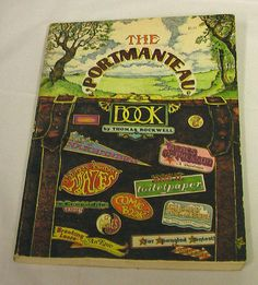 1974 The Portmanteau Book Thomas Rockwell First Edition Soft Cover Vintage PB