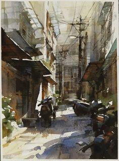 Chien Chung Wei WATERCOLOR