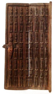 Door Ethnic Group: Dogon Country of Origin: Mali, Africa www.TribalArtTreasures.com