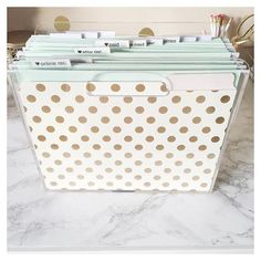 Clear Acrylic File Organizer Home Office Organization, Office Workspace, Home Office Decor, Office Chic, Desk Inspo, Hanging File Folders, Basement Office, Guest Room Office, Hanging Files