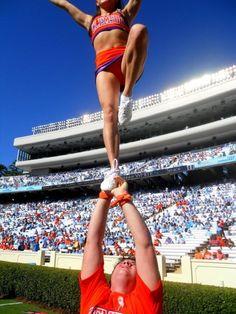 clemson cheerleading