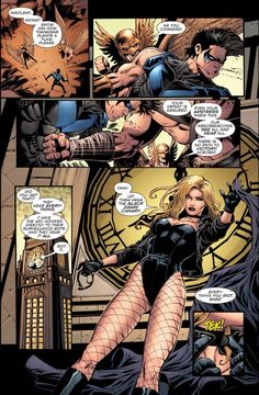 How Black Canary Took Out Hawkgirl And Hawkman (Convergence) – Comicnewbies Comic Book Superheroes, Comic Book Characters, Comic Books Art, Black Canary Comic, Arrow Black Canary, Comic Art Girls, Comics Girls, Dc Comics Games, Mystique Marvel